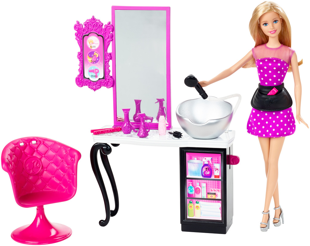 Barbie Style Shops With Doll Salon - Hairstyle barbie doll