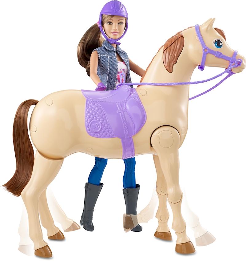 barbie saddle and ride horse instructions