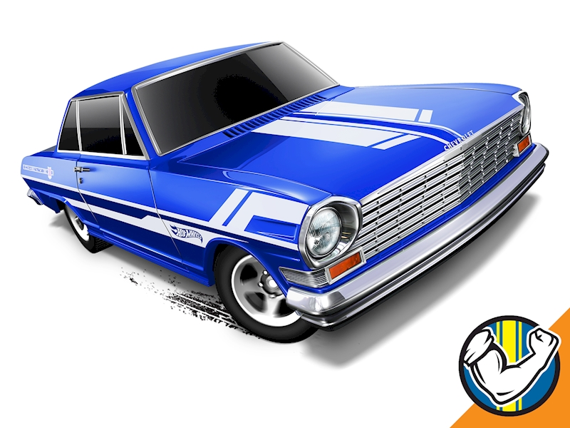 '63 Chevy II - Hot Wheels