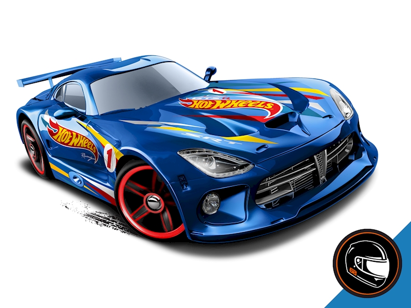 SRT Viper GTS-R- Shop Hot Wheels Cars, Trucks & Race ...