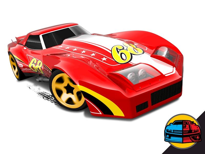 76 greenwood corvette shop hot wheels cars trucks race tracks hot wheels. Black Bedroom Furniture Sets. Home Design Ideas
