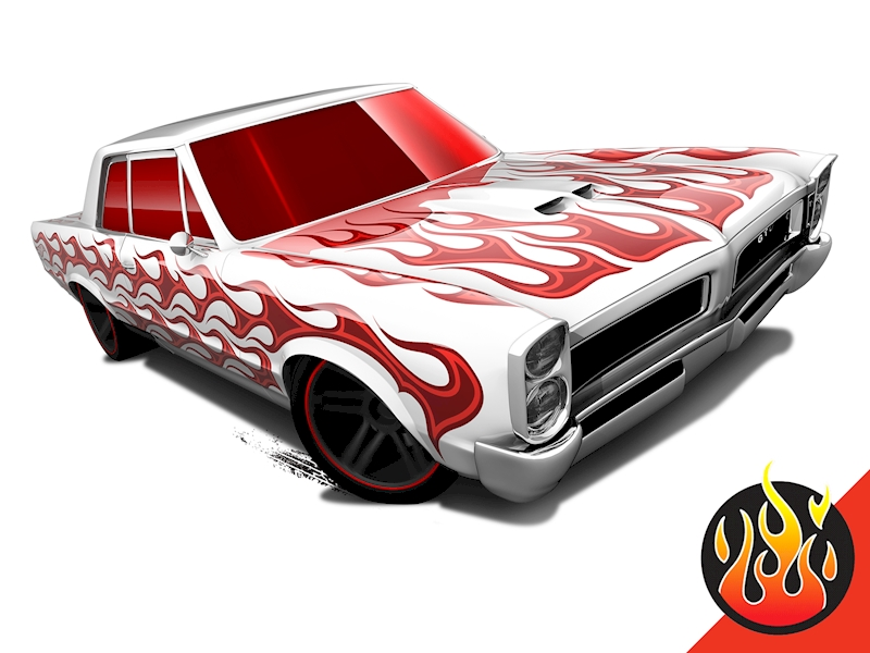 '65 Pontiac GTO - Hot Wheels
