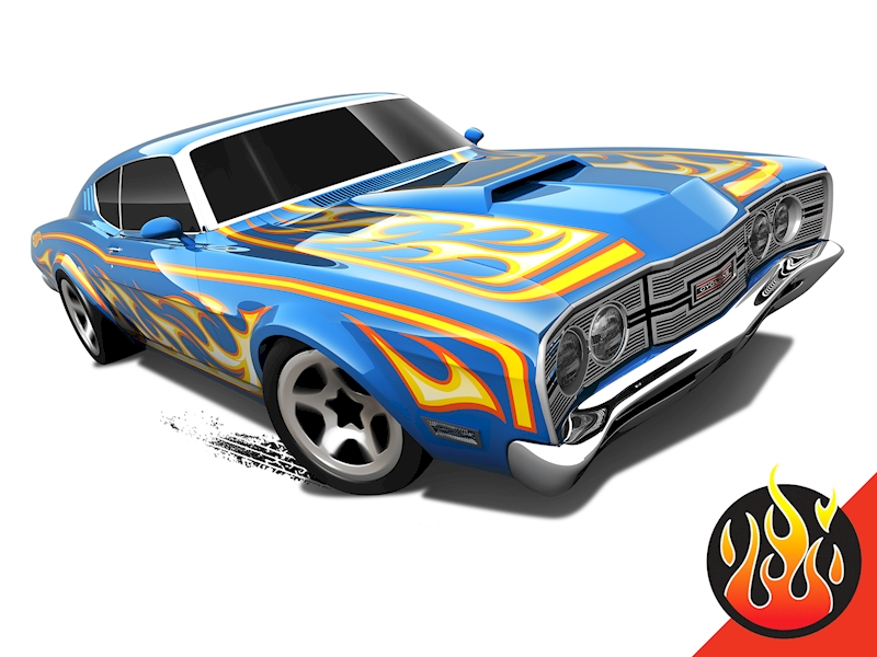 '69 Mercury Cyclone - Hot Wheels