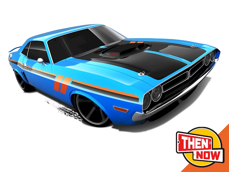 '71 Dodge Challenger - Hot Wheels