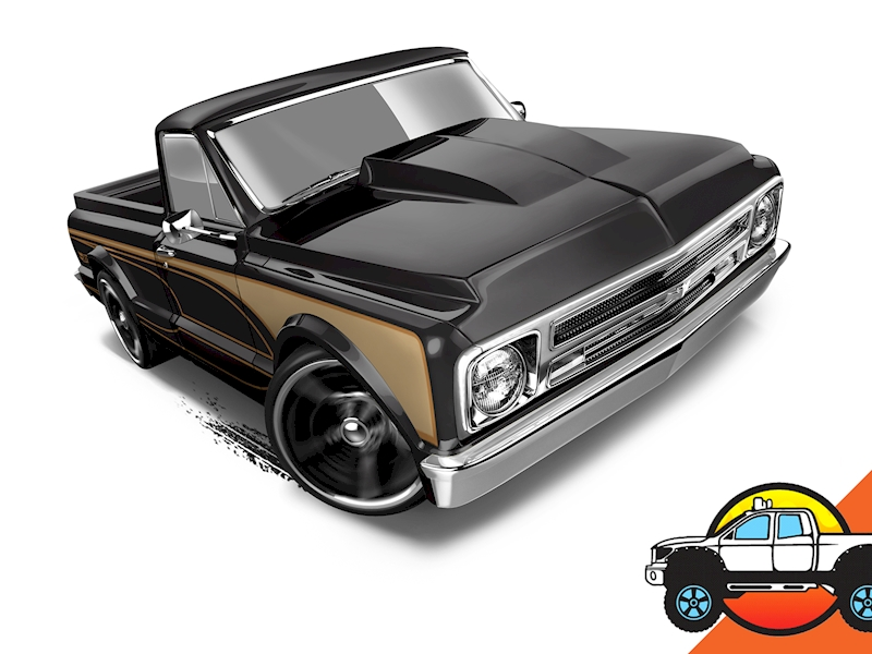 '67 Chevy C10 - Hot Wheels