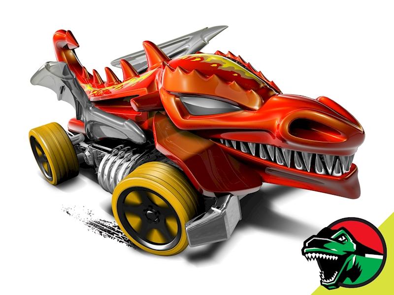 hot wheels dragon