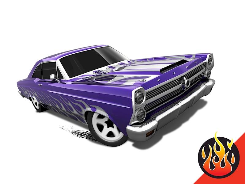 '66 Ford 427 Fairlane - Shop Hot Wheels Cars, Trucks & Race Tracks | Hot Wheels