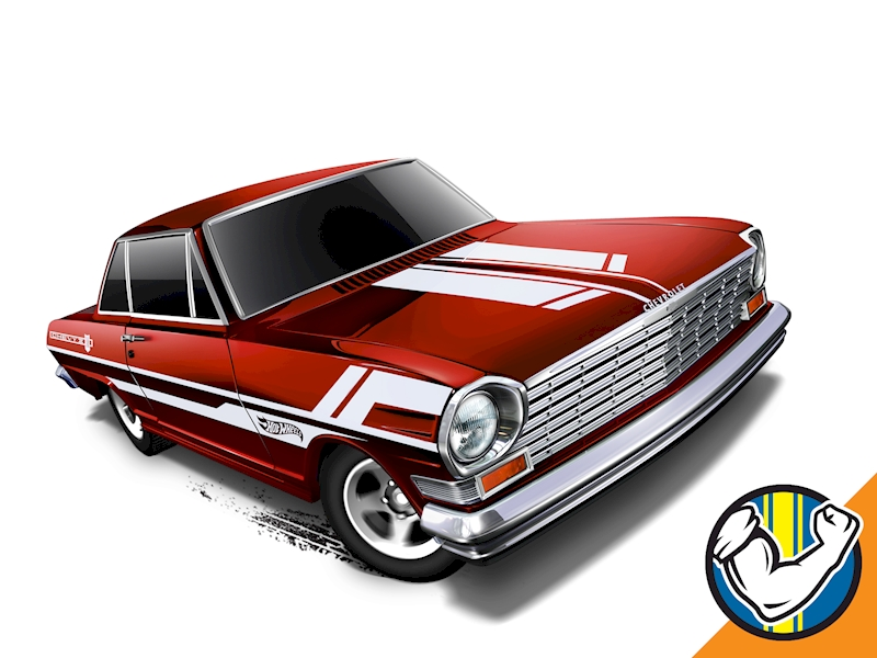 Image of '63 Chevy II - Hot Wheels