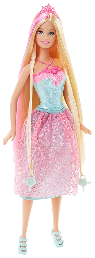 Barbie princesse tresse magique de mattel - Barbie sirene magique ...