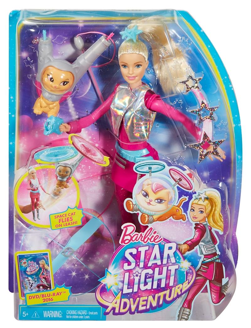 barbie star light adventure barbie doll flying cat - Barbie Fe