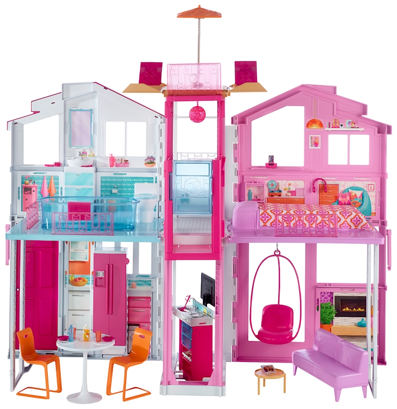 barbie maison de luxe. Black Bedroom Furniture Sets. Home Design Ideas