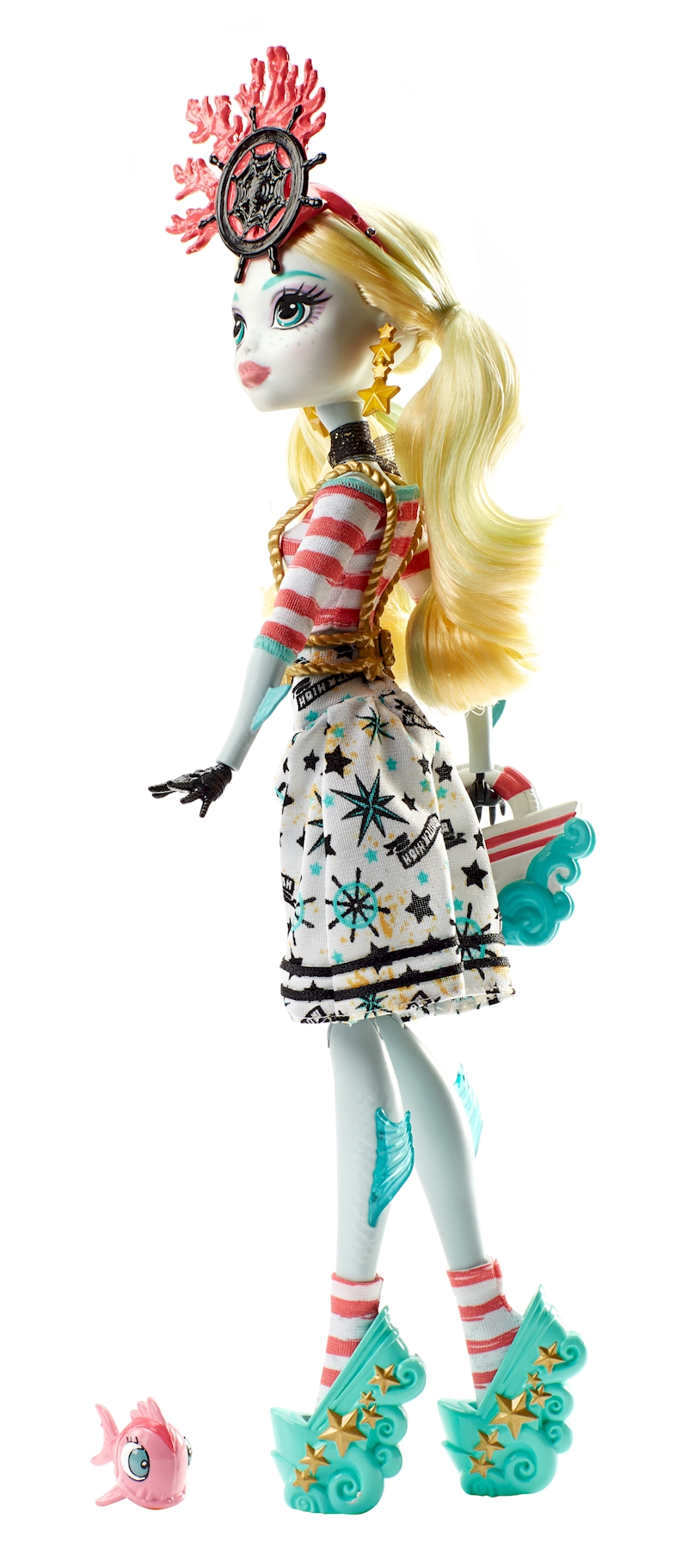 Monster High Toys : Monster high shriekwrecked™ nautical ghouls™ lagoona blue
