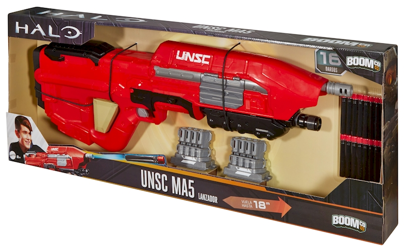HALO® UNSC MA5 BLASTER Dart Toys & Blasters