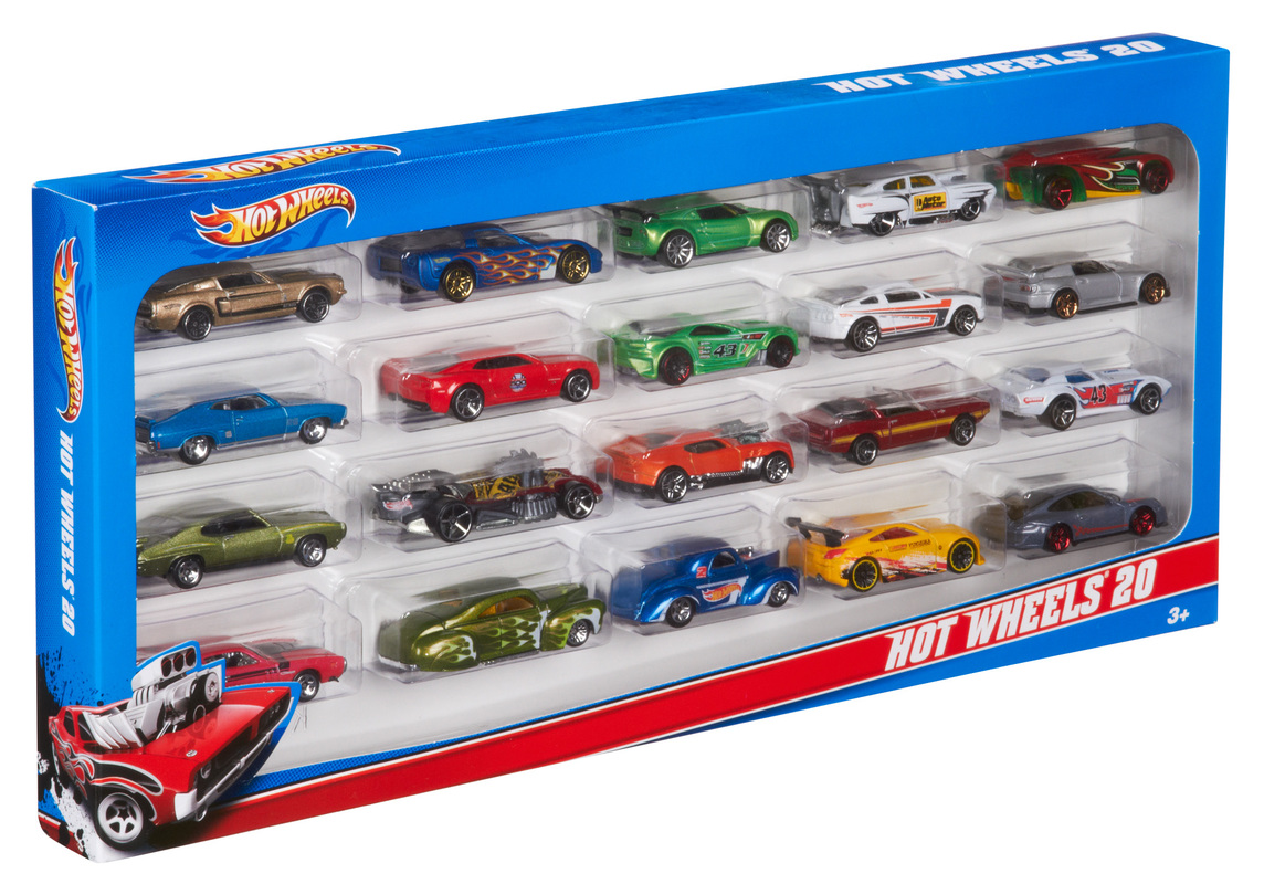 hot wheels 20 gift pack shop hot wheels cars trucks race tracks hot wheels. Black Bedroom Furniture Sets. Home Design Ideas