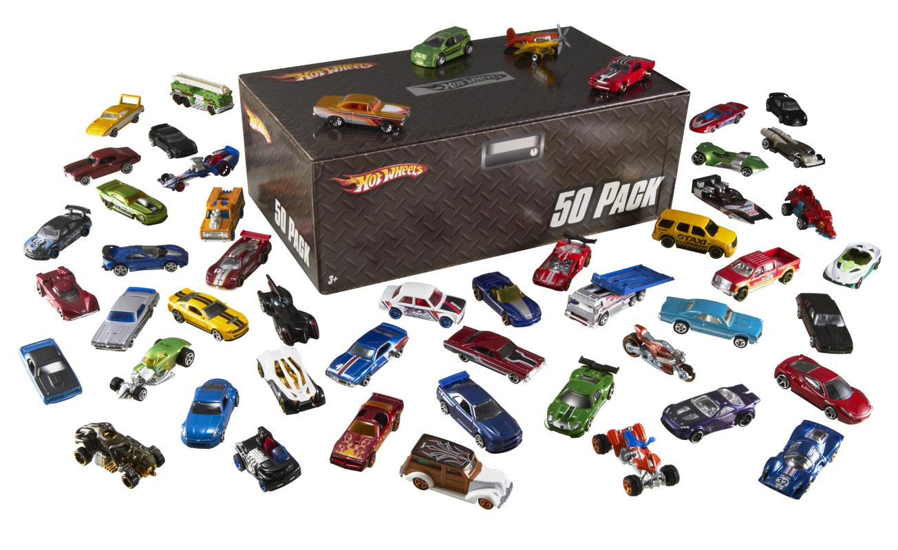 hot wheels coffret 50 voitures shop hot wheels cars trucks race tracks hot wheels. Black Bedroom Furniture Sets. Home Design Ideas