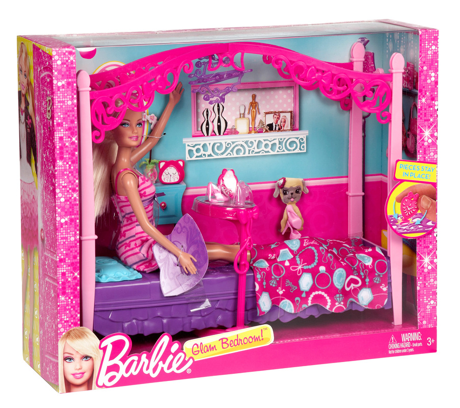 Barbie 174 Glam Bedroom