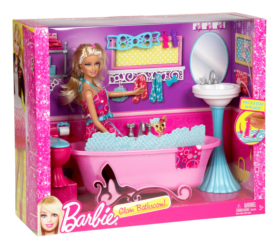 Additional Images. BARBIE  Glam Bathroom