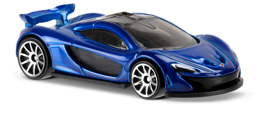 mclaren p1™ in blue, hw exotics, car collector | hot wheels