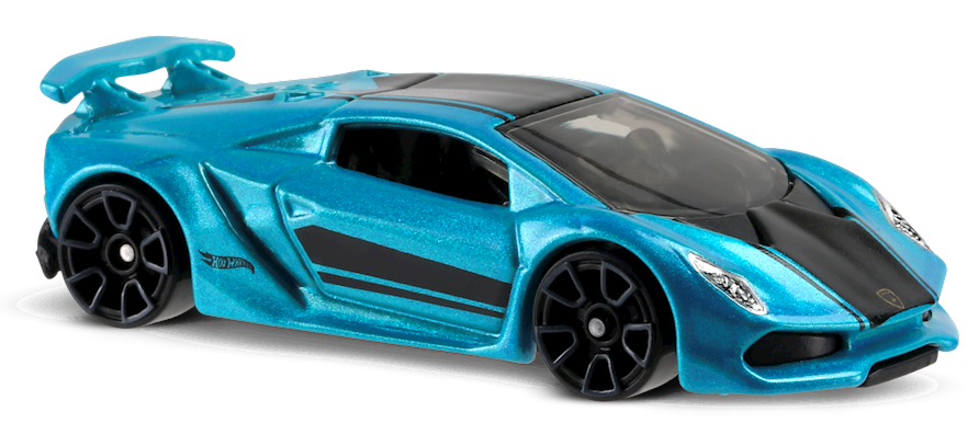 Lamborghini Sesto Elemento In Blue Hw Exotics Car Collector Hot