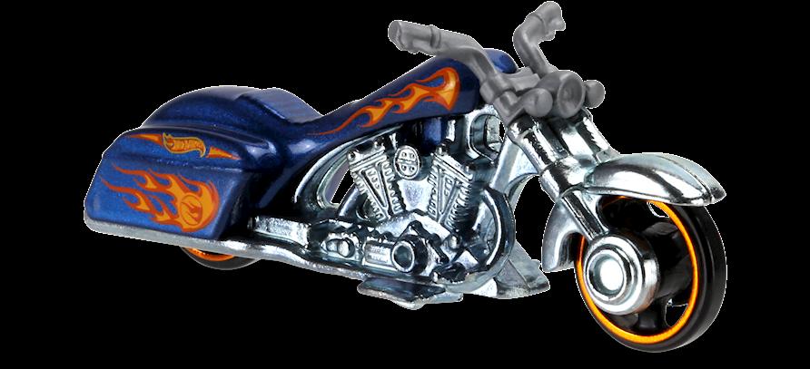 Bad Bagger In Black Hw Moto Car Collector Hot Wheels