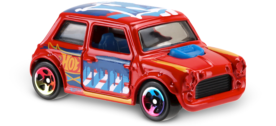 Morris Mini In Red Hw Art Cars Car Collector Hot Wheels