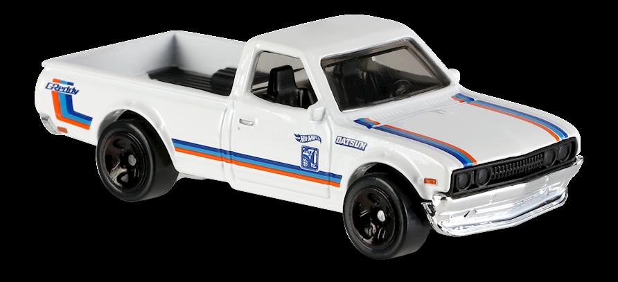 Datsun 620 In White Hw Hot Trucks Car Collector Hot Wheels