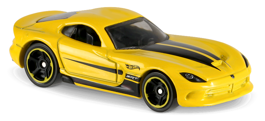 2013 Srt Viper In Yellow Then And Now Car Collector Hot Wheels