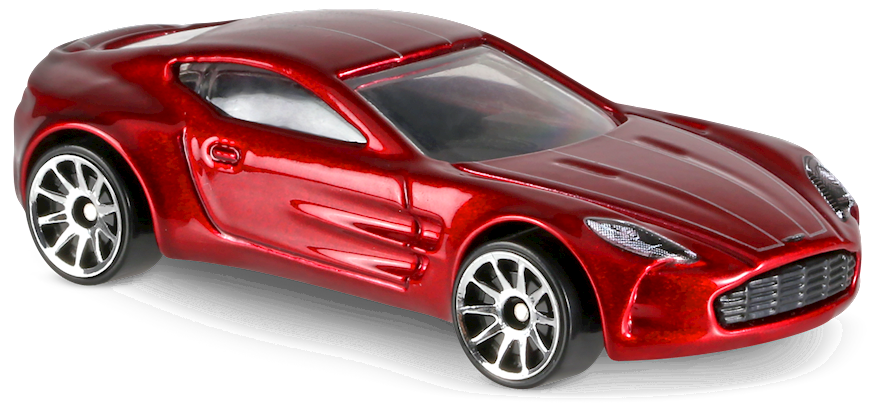 Aston Martin One 77 In Red Hw Exotics Car Collector Hot Wheels