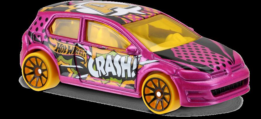 volkswagen golf mk7 in pink hw art cars car collector. Black Bedroom Furniture Sets. Home Design Ideas