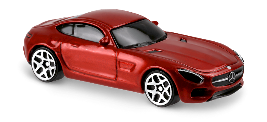 15 mercedes amg gt in red hw exotics car collector hot for Red mercedes benz power wheels