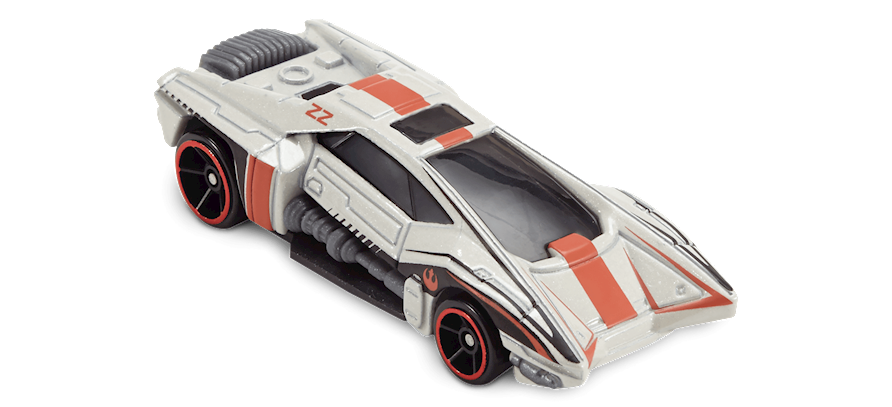 2017 Hot Wheels Star Wars Carships Rebel SnowSpeeder