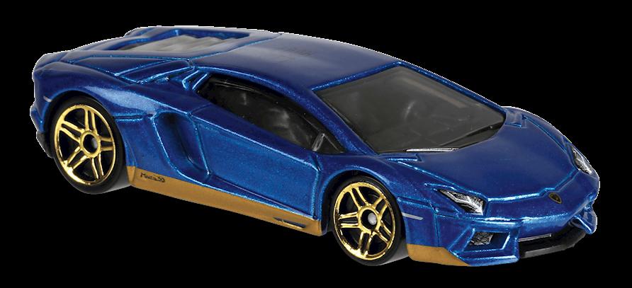 Aventador Miura Homage In Blue Hw Exotics Car Collector Hot Wheels