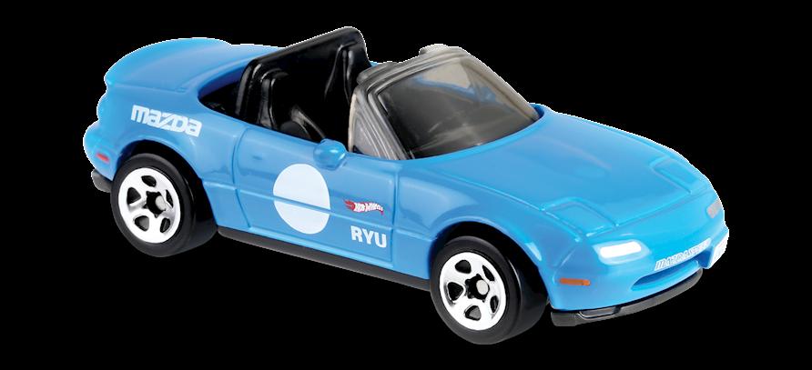 /'91 Mazda MX-5 Miata Hot Wheels 2019 Hw Speed Graphics 4//10 Mattel