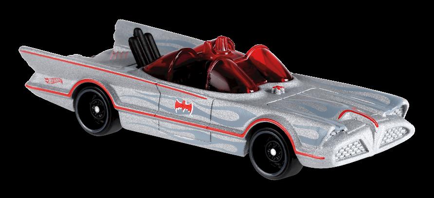 Classic TV Series Batmobile™ in Silver, BATMAN™, Car