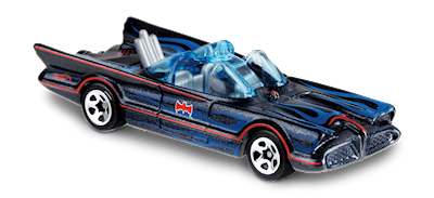 118-nuevo en caja original Hot Wheels 2019-TV series Batmobile-Batman