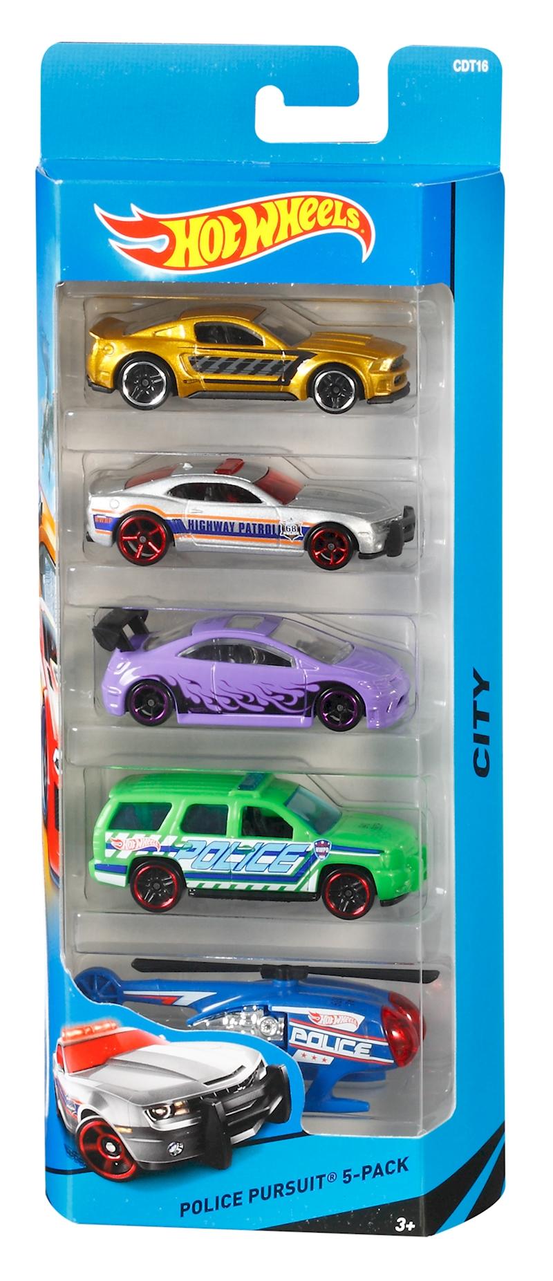 Hot Wheels 5 Car Gift Pack  Styles May Vary