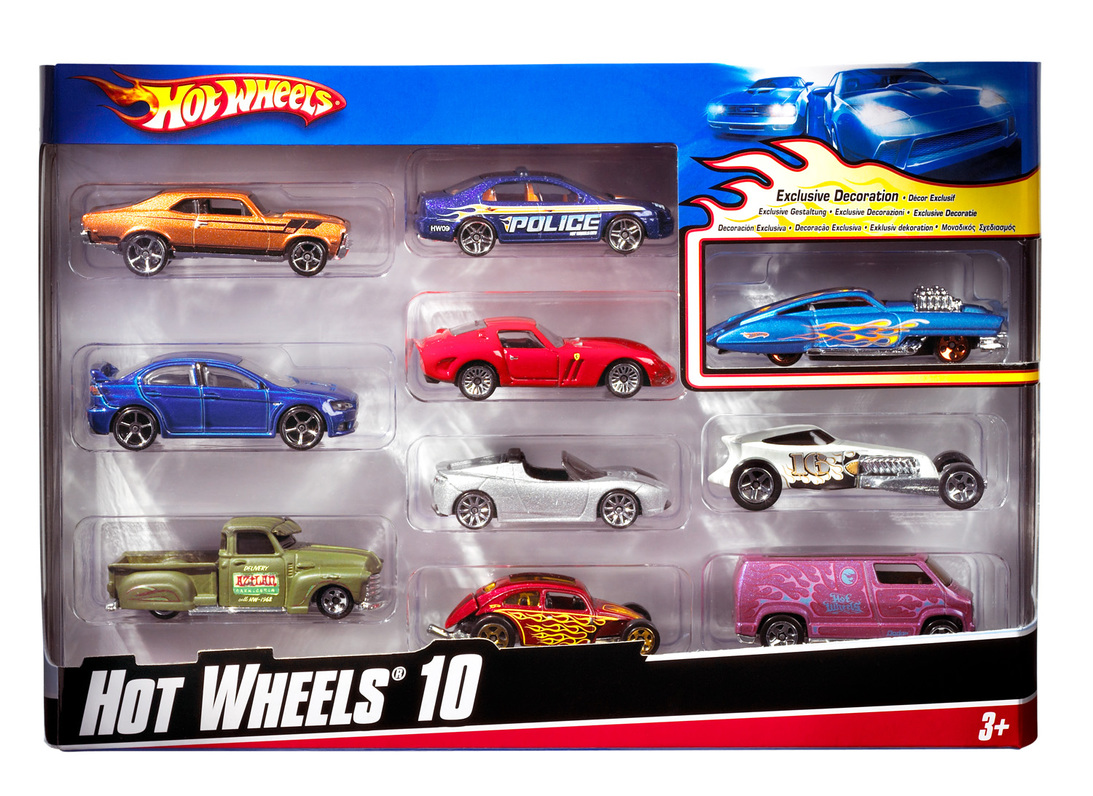 hot wheels 10 car gift pack shop hot wheels cars trucks race tracks hot wheels