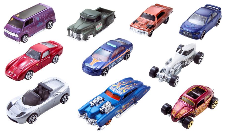 hot wheels coffret de 10 voitures shop hot wheels cars trucks race tracks hot wheels - Voitures Hot Wheels