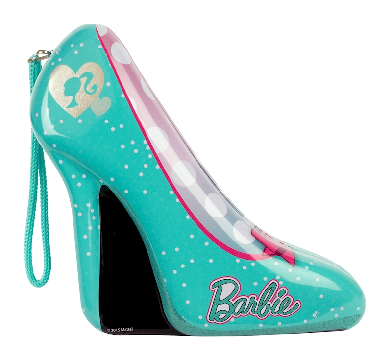 """Barbie Nail Art Games Free Download: Barbie """"Total Fashionista High Heels Canister"""" Nail Set"""