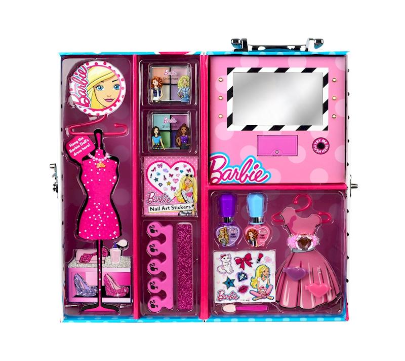 Barbie Nail Art Games Free Download: Barbie Fab Beauty Wardrobe (in Acetate Display Box