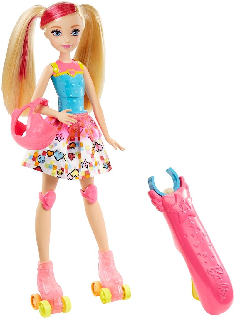 5e1f5a387e Barbie™ Video Game Hero™ Light-up Skates Barbie® Doll