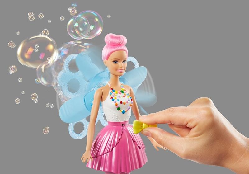 Barbie Burbujas Barbie Mágicas Hada Burbujas Mágicas Hada Barbie kXPuiZ