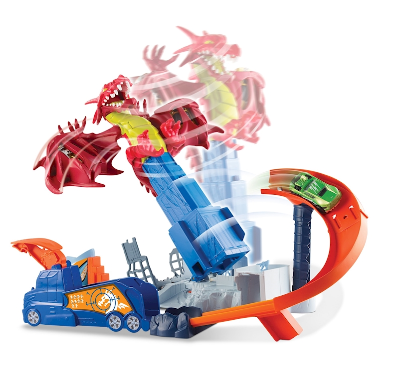 Hot Wheels Dragon Blast Play Set Shop Hot Wheels Cars Trucks