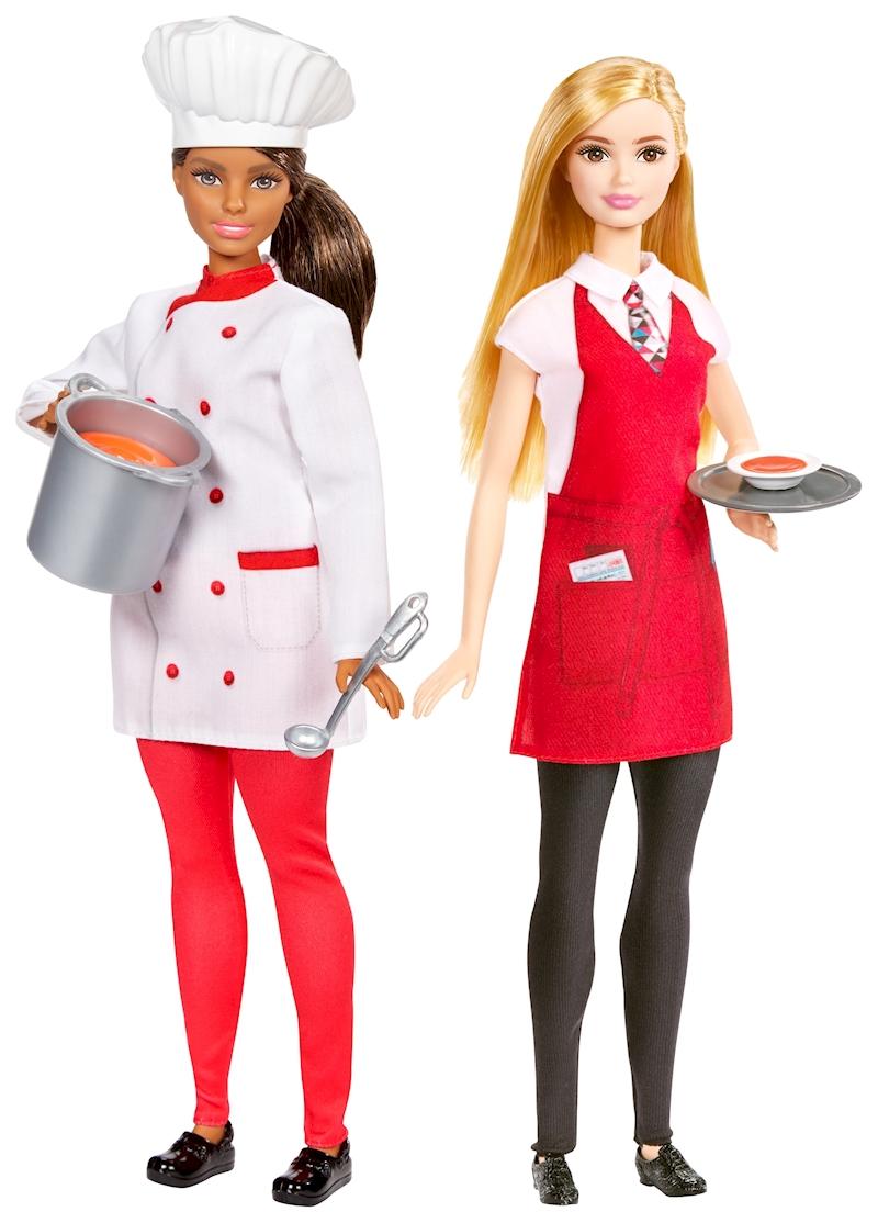 Barbie Chef Y Camarera