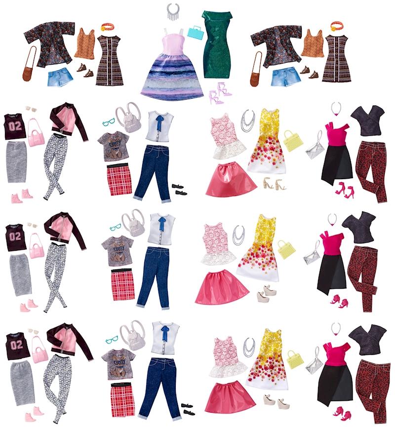 Wa28205 Mattel Barbie Fashions Graphic Design Pack Watchmovieup Com