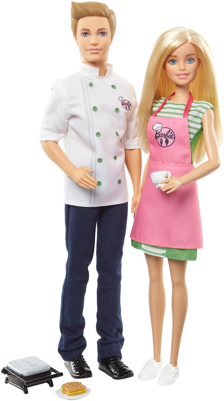 Barbie Ken Cocina A Cocinar