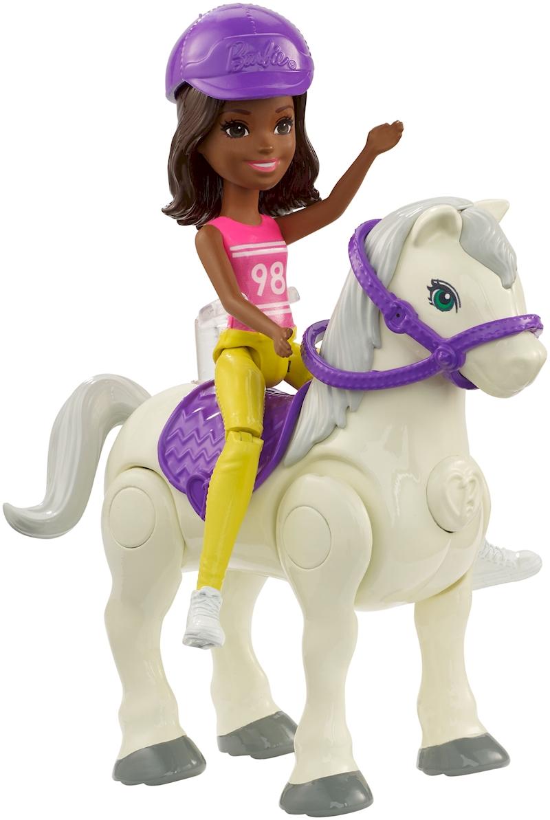 And Barbie® Pony Go™ Doll On Fashion The Purple White lF1J3TcK