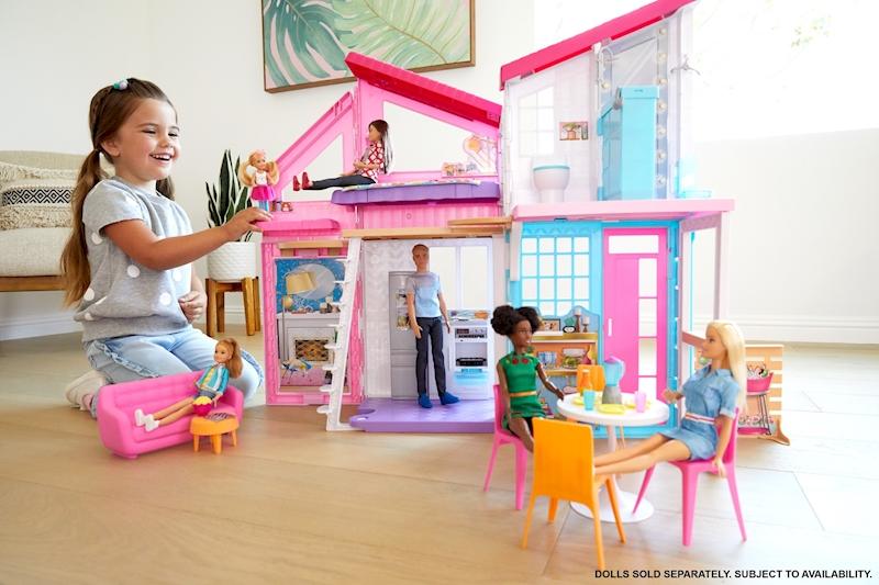 Conjunto Barbie Casa Malibú