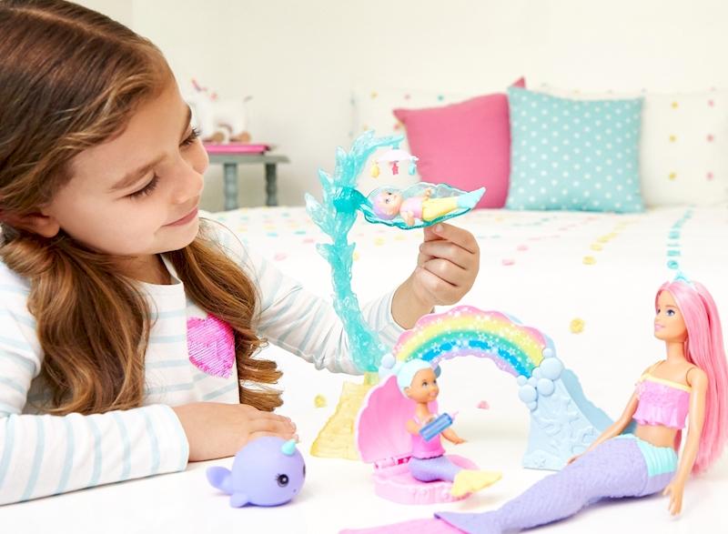 Mattel Barbie dreamtopia Nursery Playset