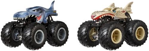 Hot Wheels Monster Trucks Demolition Doubles Mega Wrex Vs
